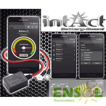 Intact Battery Guard - Lector voltaje baterias por Bluetooth