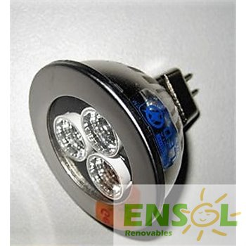 Ico-GE nichia powered led mr16 3w