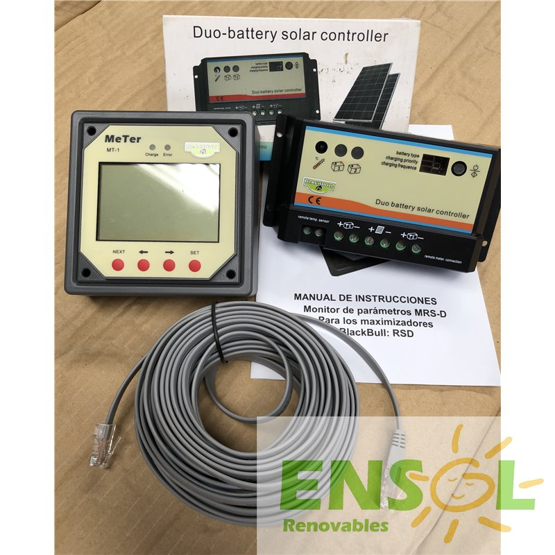 BlackBull 12/24 -DUAL Battery PWM 20A Charge Controller