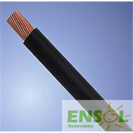 Cable 1x10mm2 NEGRO