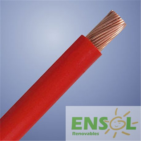 Red 10mm2 special DC cable (mtr)