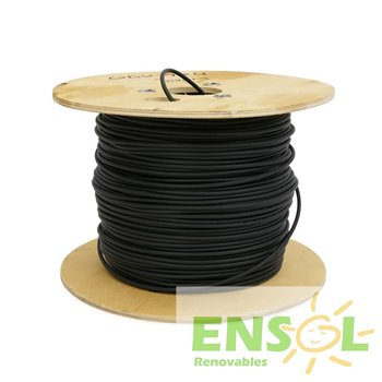 Cable especial 1x6mm NEGRO (metro)
