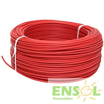 RED 6 mm2 special DC cable (mtr)