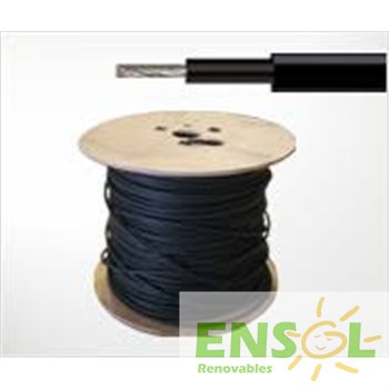 BLACK 6mm2 UV protected Solar Cable (mtr)
