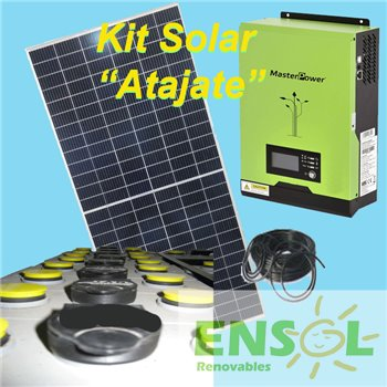 Kit Solar Atajate