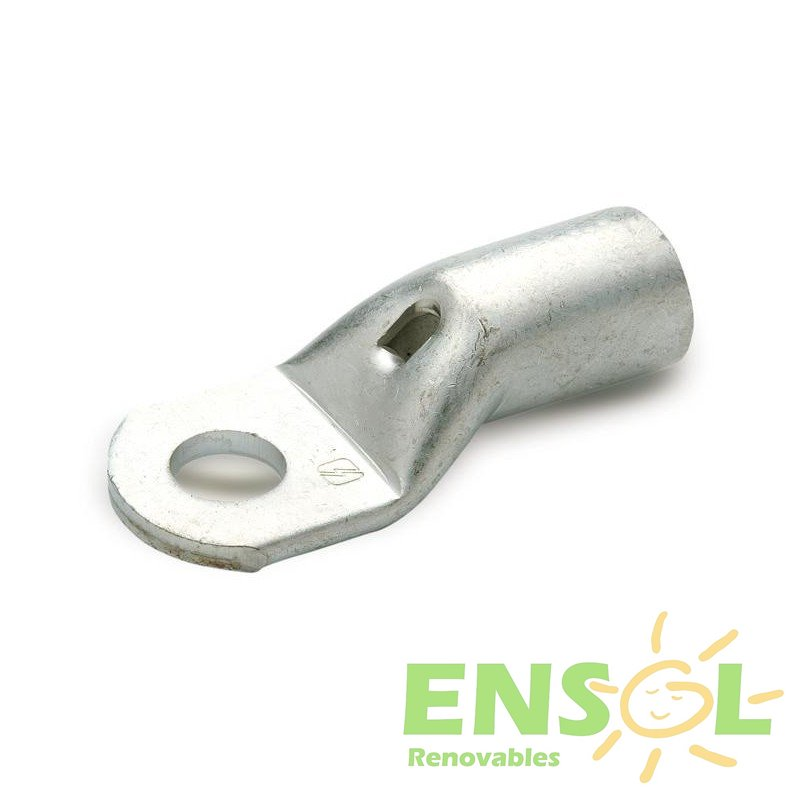 35mm Tinplated copper T Lug connector with  8mmØ drill