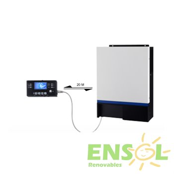 Voltronic Axpert  Inverter/Charger and 60A MPPT Solar Controller in one