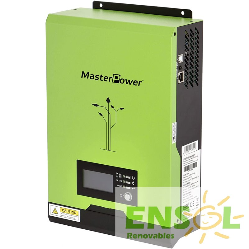 MasterPower UM1000 3 in 1 inverter charger mppt charge controller