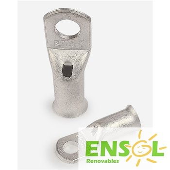 50mm Tinplated copper T Lug connector with 10mmØ drill