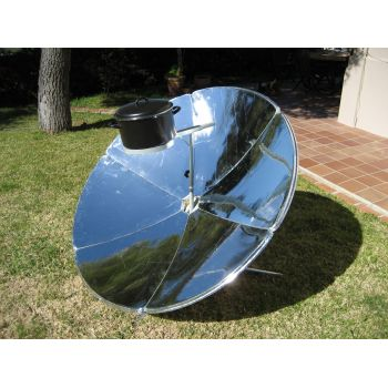 IcoSUN 2 Parabolic Solar Oven front