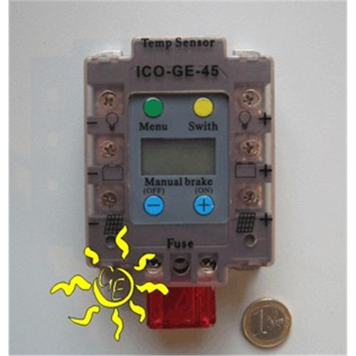 Ico-GE 45A Digital Charge controller with display