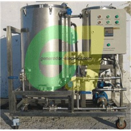 front view Ico-GE biodiesel reactor