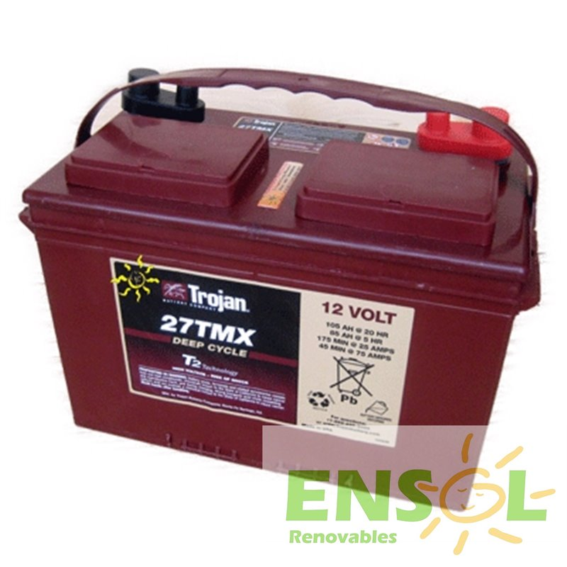 Trojan 27TMX deep cycle battery