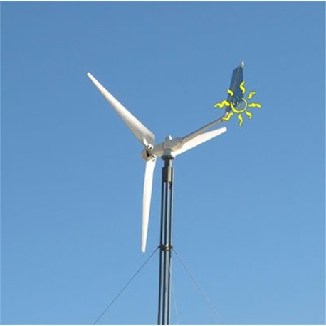 Ico-GE Eolos 5kw wind turbine with tower
