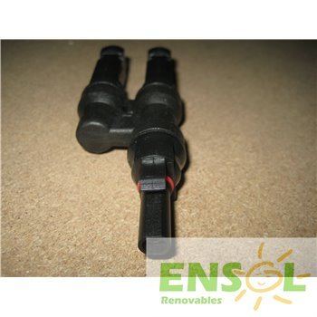 MC4 6mm 2 Male>1 Female parallel connector -2-