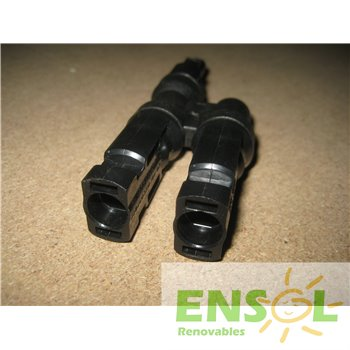 MC4 6mm 2 Male>1 Female parallel connector -3-