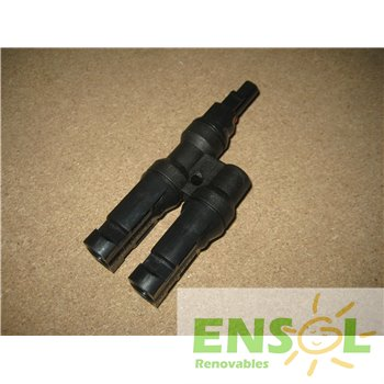 MC4 6mm 2 Male>1 Female parallel connector -4-