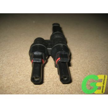 MC4 6mm 2 Female>1 Male parallel connector -2-