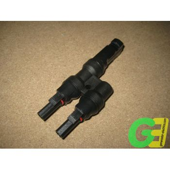 MC4 6mm 2 Female>1 Male parallel connector -4-