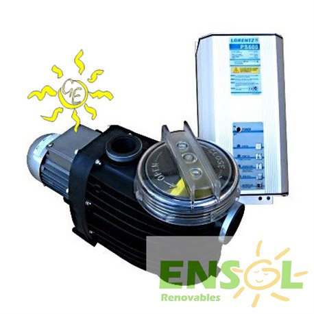 Lorentz  PS600CS-15-1 Swimming Pool Solar Pumping Kit.