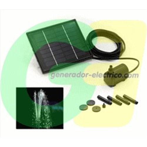 Mini direct Solar pumping fountain pump
