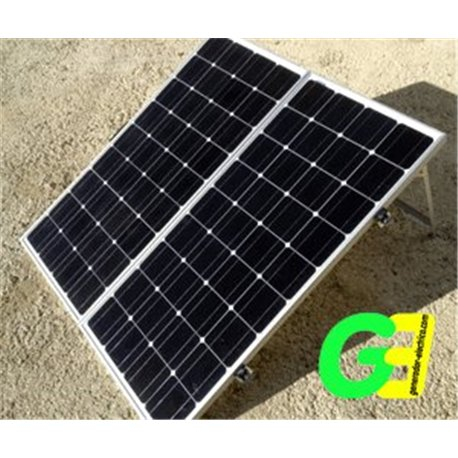 190W Ico-GE Foldable Solar Panel with stand and controller