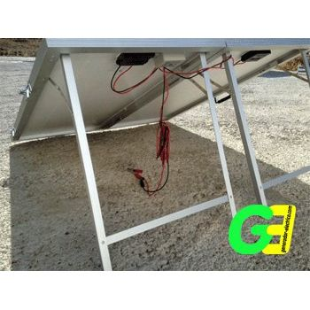 Ico-GE 190w Foldable solar panel working position