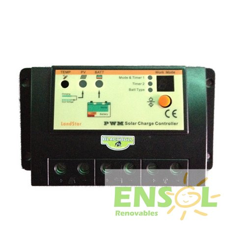 Blackbull 12/24 (20 A) PWM Solar Charge Controller