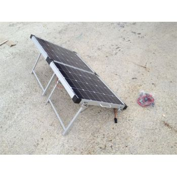100W Foldable Solar Panel top view