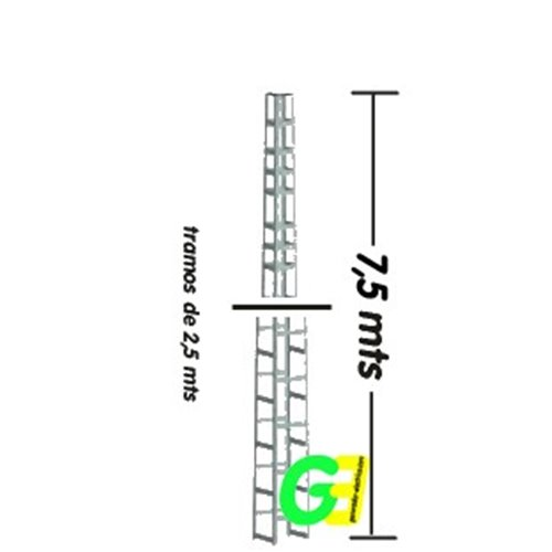 7,5 Mtr Self Standing Wind Turbine Tower