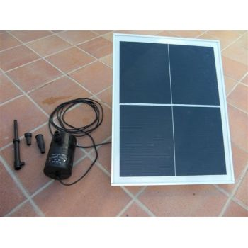 Kit Bomba Solar Directo 1600L hora con Panel 25Wp