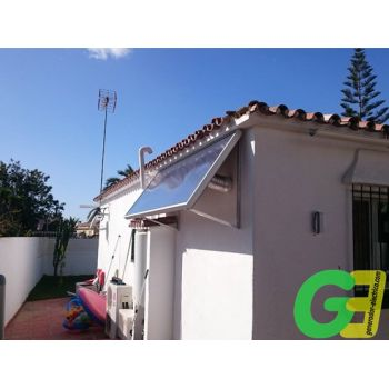 SolarVenti SV 20 Blanco inclinado