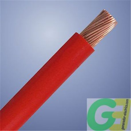 red 16mm2 special DC cable