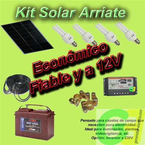 D.I.Y. Arriate Solar Kit with Battery