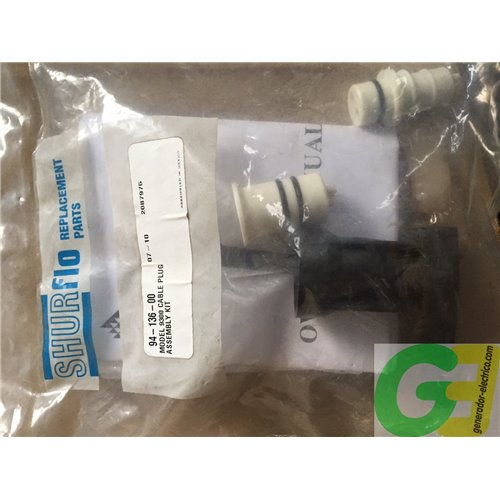 Shurflo 9325 Cable Plug Assembly Kit