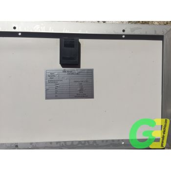 10W Ico-GE Mini solar panel - rear