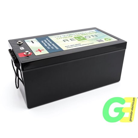 RB300 (600Ah equivalent) lithium battery