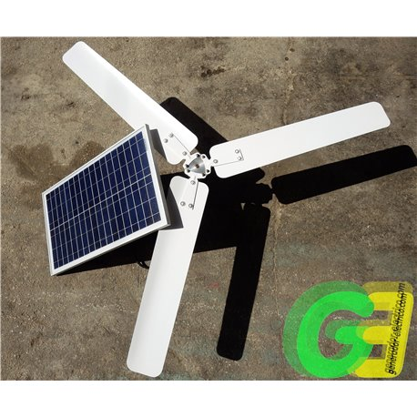 Solar powered Ceiling Fan
