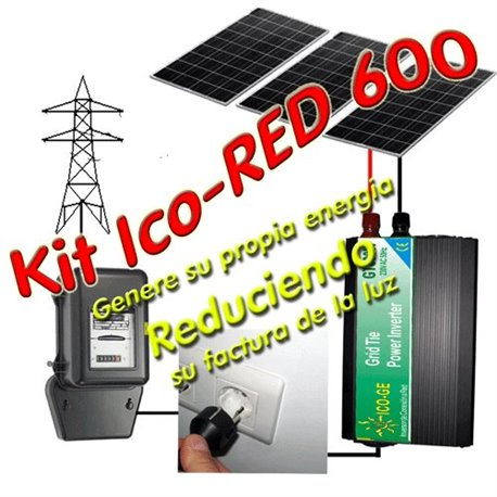 Kit Autoconsumo Ico-GE IcoRED600