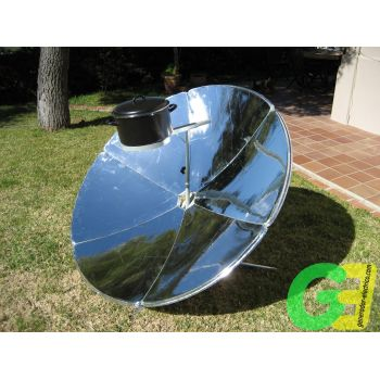 180 Cm dish IcoSUN 2 solar cooker front view