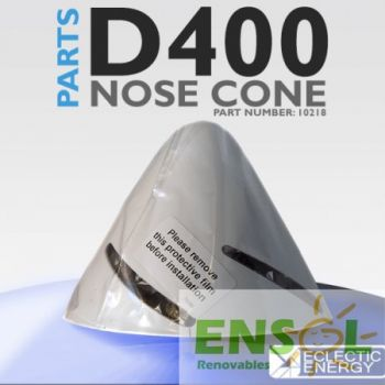 D400 Nose Cone Spinner (White) 10218
